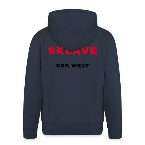 Bester Sklave der Welt - Männer Premium Kapuzenjacke