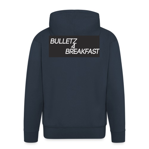bulletz4breakfast_t-shirt - Men's Premium Hooded Jacket