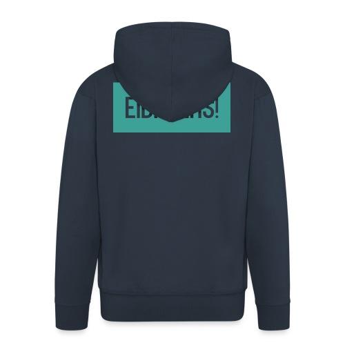 T-shirt Eibroers Naam - Mannenjack Premium met capuchon