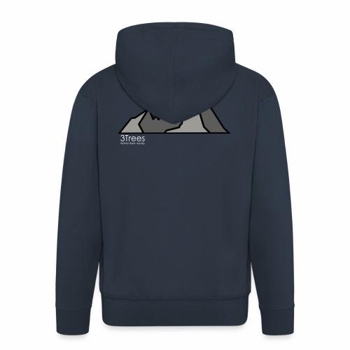 Mountains - Männer Premium Kapuzenjacke
