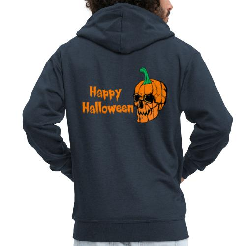Happy Halloween - Men's Premium Hooded Jacket