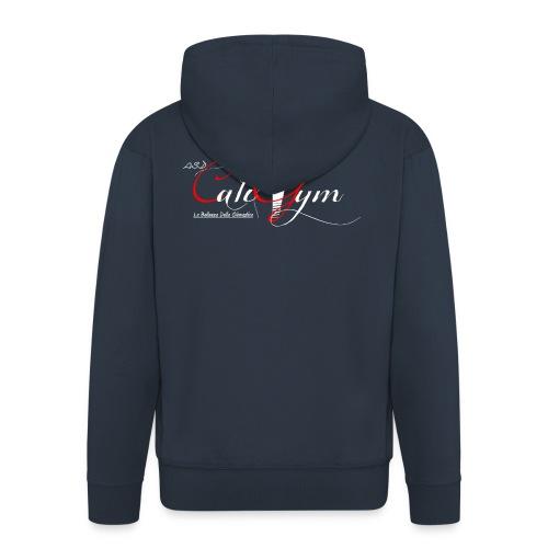 Cali Gym_2 - Felpa con zip Premium da uomo