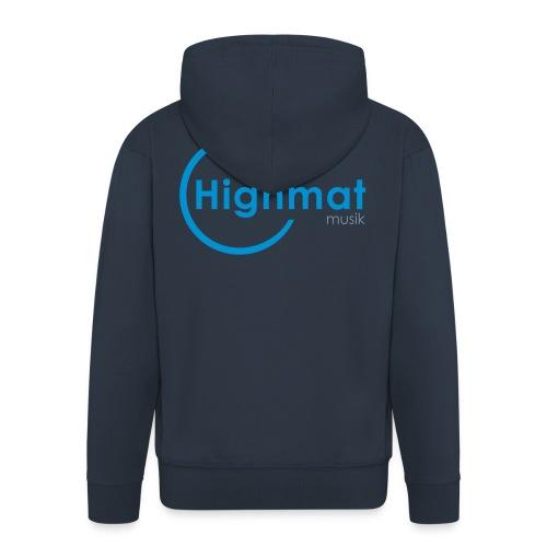 Highmatmusik Logo Shirt *SlimFit* - Männer Premium Kapuzenjacke