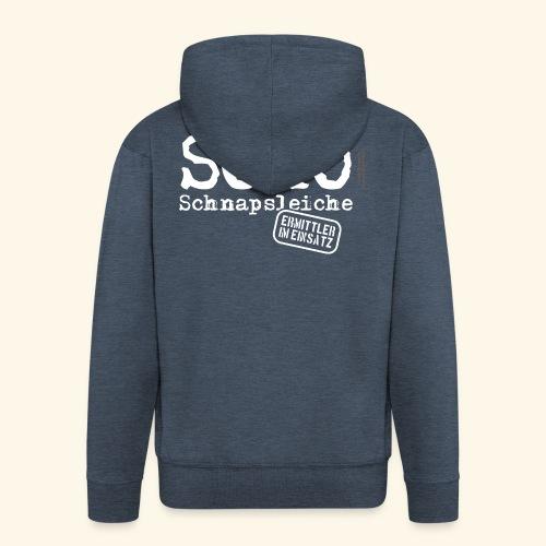 Sauf T Shirt SOKO Schnapsleiche - Männer Premium Kapuzenjacke