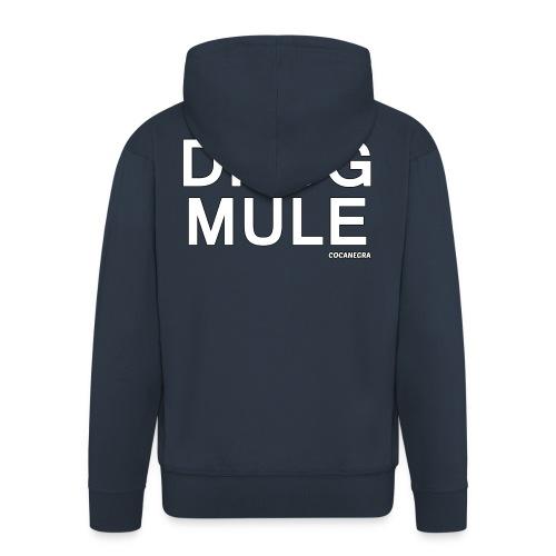 Drug Mule bag - Felpa con zip Premium da uomo