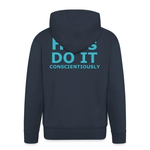 Do It hsPs women's t-shirt - Men's Premium Hooded Jacket
