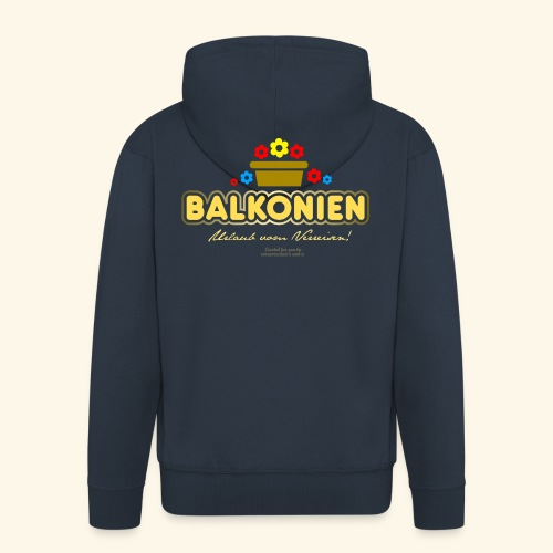 Balkonien T Shirt - Männer Premium Kapuzenjacke