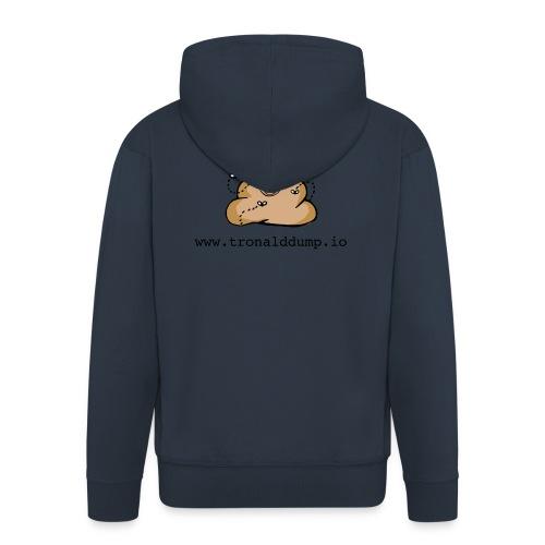 Tronald Dump - Men's Premium Hooded Jacket