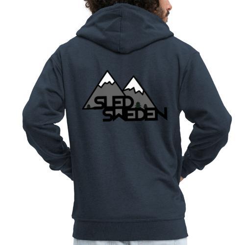 SledSweden Official Logo - Premium-Luvjacka herr