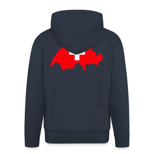 Switzerland - Mannenjack Premium met capuchon