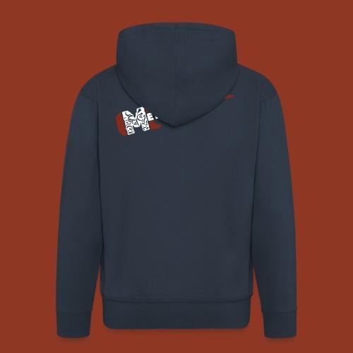 METAPSYCOROCK - Felpa con zip Premium da uomo