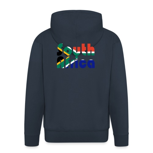 South Africa - Männer Premium Kapuzenjacke