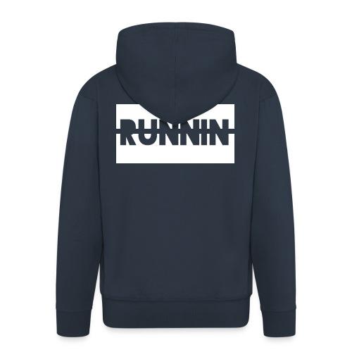 Runnin '  Exclusive - Men's Premium Hooded Jacket