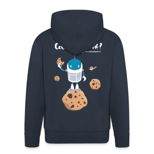 Cookies gelöscht - Männer Premium Kapuzenjacke