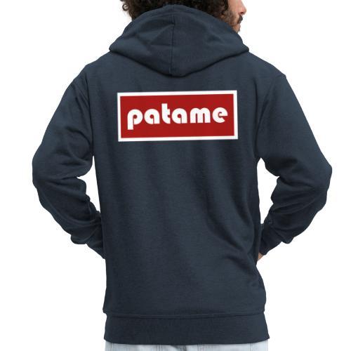 patame Logo - Männer Premium Kapuzenjacke