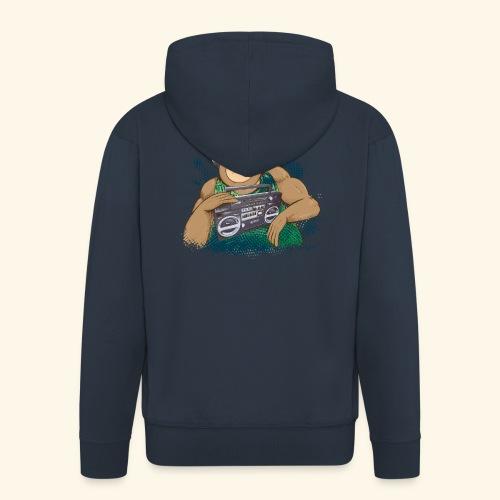 Gorilla Jungle Hiphop - Chaqueta con capucha premium hombre