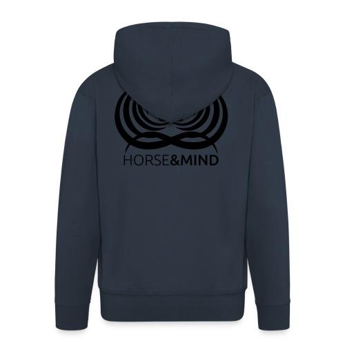 Logo Horse and Mind - Männer Premium Kapuzenjacke