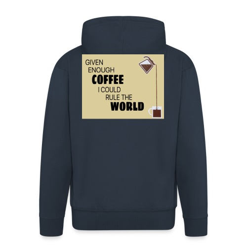 Coffee Champion - Men's Premium Hooded Jacket