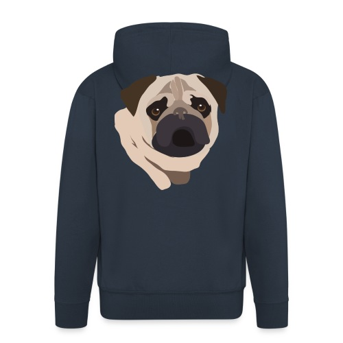 Pug Life - Men's Premium Hooded Jacket