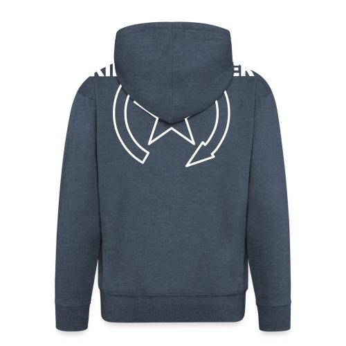 KILL SWITCH Logo 0KS02 W - Men's Premium Hooded Jacket
