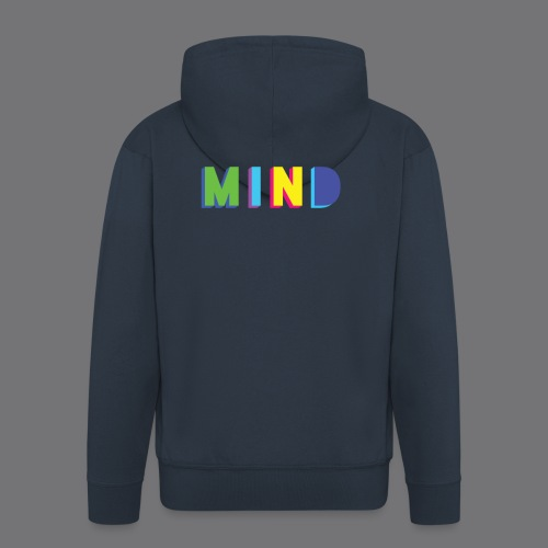 MIND Tee Shirts - Men's Premium Hooded Jacket