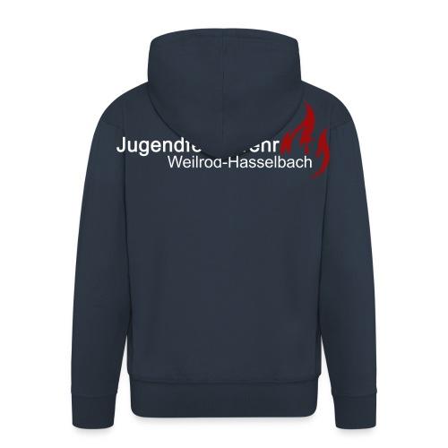 Logo JFW - Männer Premium Kapuzenjacke