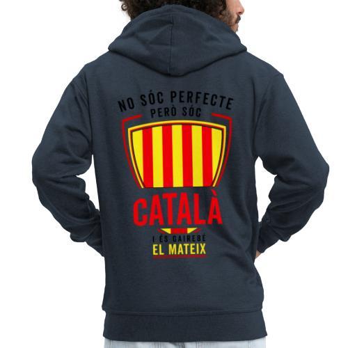 Soc CATALA Catalan Catalunya Catalona Catalonia - Chaqueta con capucha premium hombre