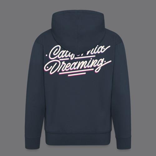CALIFORNIA DREAMING Vintage Tee Shirt - Men's Premium Hooded Jacket