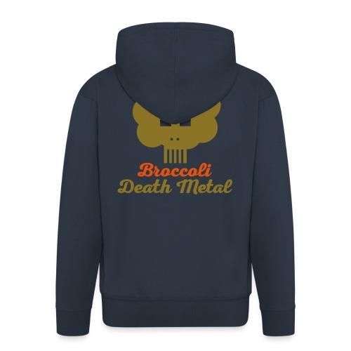 broccoli_death_metal_-10--ai - Männer Premium Kapuzenjacke