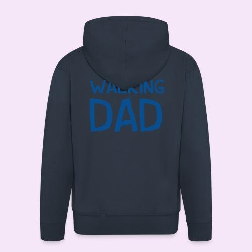 Vierdaagse Nijmegen - Walking Dad BLUE - Mannenjack Premium met capuchon