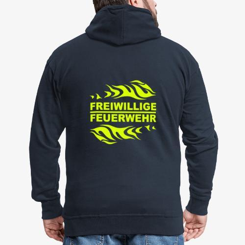 FFW Flame - Männer Premium Kapuzenjacke