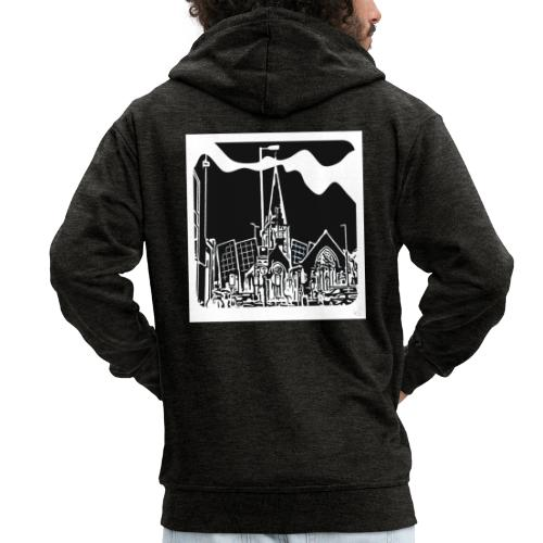Church iconic - Men's Premium Hooded Jacket