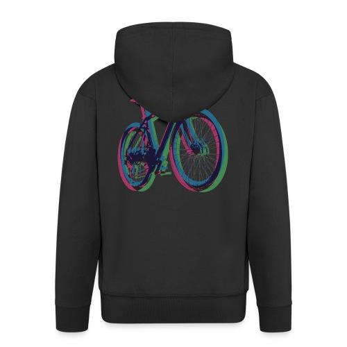 Bike Fahrrad bicycle Outdoor Fun Mountainbike - Men's Premium Hooded Jacket