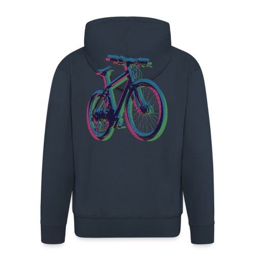 Bike Fahrrad bicycle Outdoor Fun Mountainbike - Men's Premium Hooded Jacket