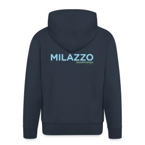 MILAZZO - Felpa con zip Premium da uomo