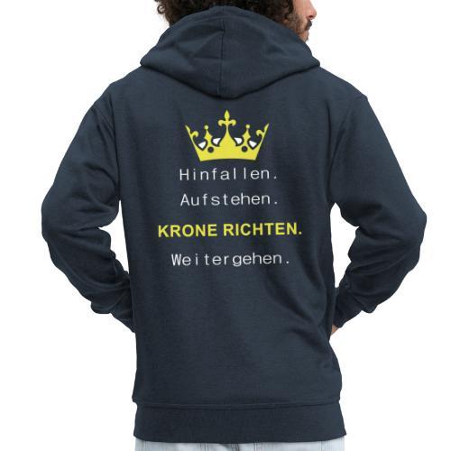 Krone Richten - Männer Premium Kapuzenjacke