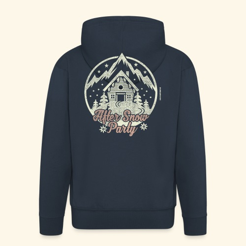 Apres Ski Party T Shirt After Snow Party - Männer Premium Kapuzenjacke