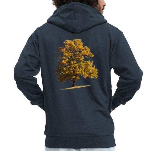 Herbst Herbstlaub Herbstbaum autumn - Männer Premium Kapuzenjacke