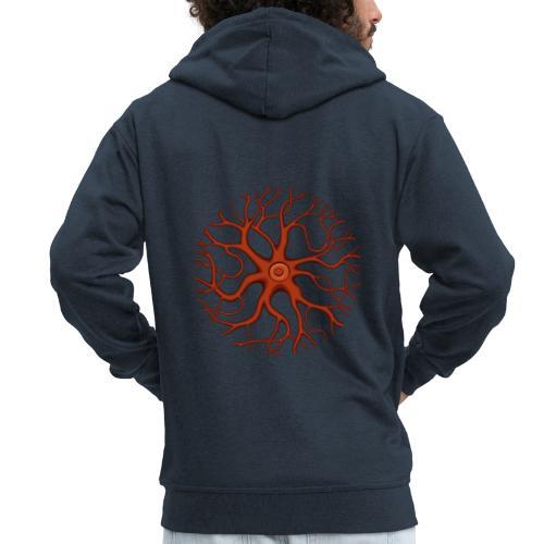 Synapse - Männer Premium Kapuzenjacke