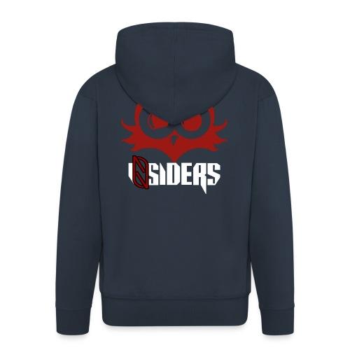 iNsiders t-shirt - Miesten premium vetoketjullinen huppari