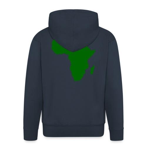 African styles green - Men's Premium Hooded Jacket