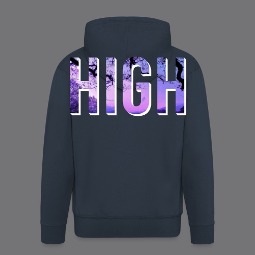 HIGH tee shirts - Men's Premium Hooded Jacket
