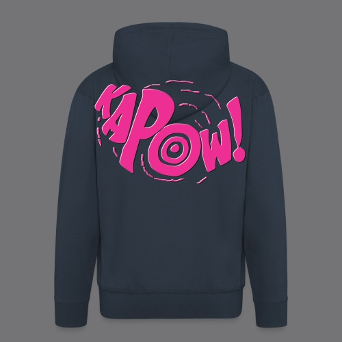 KAPOW Tee Shirts - Men's Premium Hooded Jacket