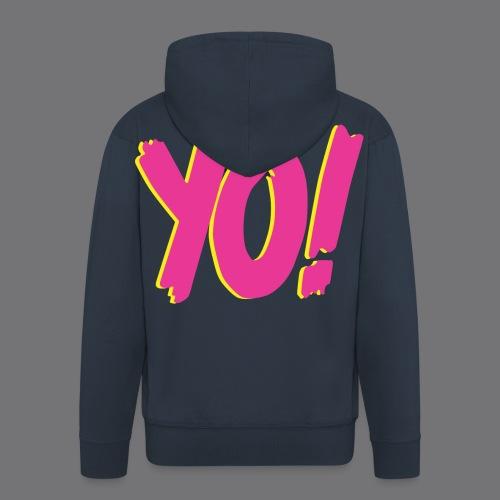 YO Tee Shirts - Men's Premium Hooded Jacket
