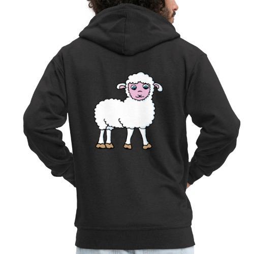 Minos le petit agneau - Veste à capuche Premium Homme