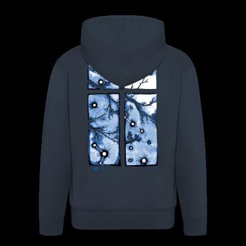Für immer und ein Tag (blau) - Männer Premium Kapuzenjacke