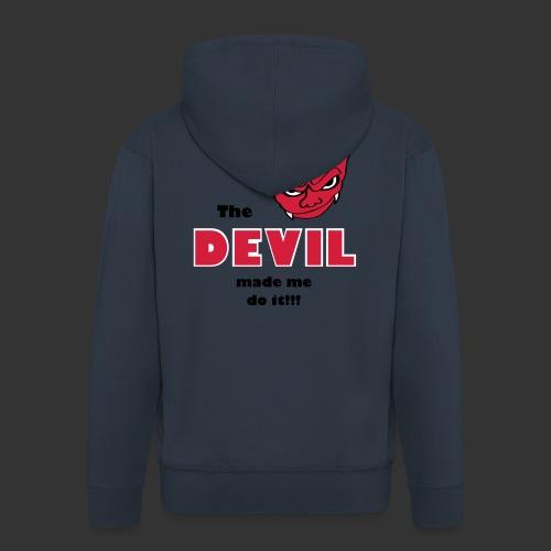 Devil made me do it! - Männer Premium Kapuzenjacke
