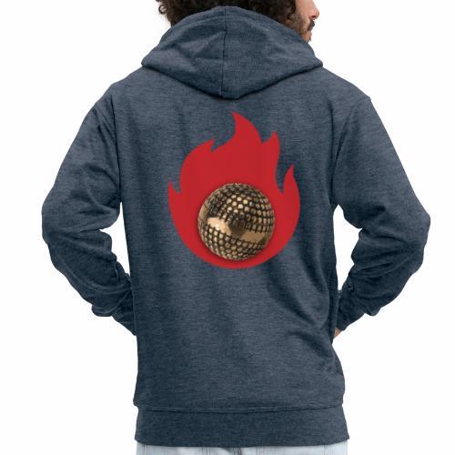 petanque fire - Veste à capuche Premium Homme