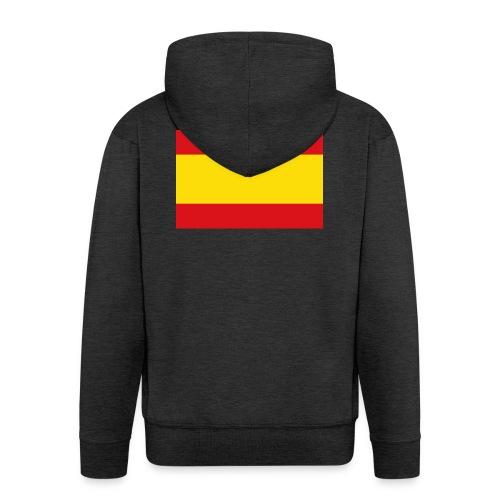 vlag van spanje - Mannenjack Premium met capuchon
