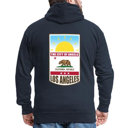 Los Angeles - California Republic - Men's Premium Hooded Jacket